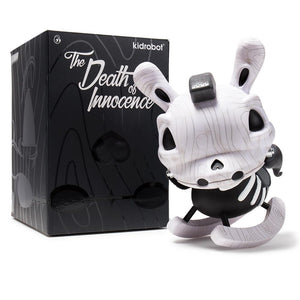 "Vinyl - Death Of Innocence 8"" White Rocking Horse Dunny By Igor Ventura"