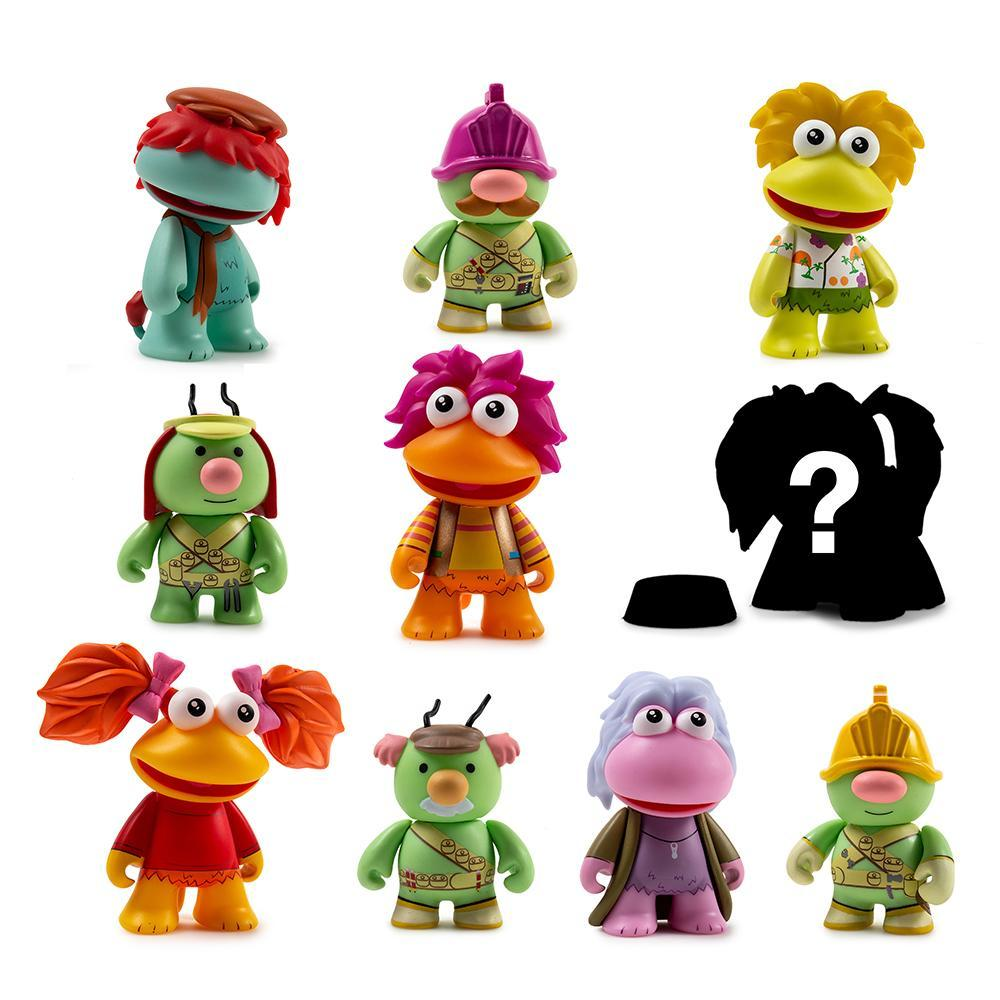 Fraggle Rock Blind Box Mini Figures by Kidrobot - Kidrobot - Designer Art Toys