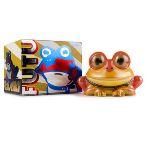 "Vinyl - Futurama All Hail Hypnotoad 6"" Metallic Art Figure By Kidrobot"