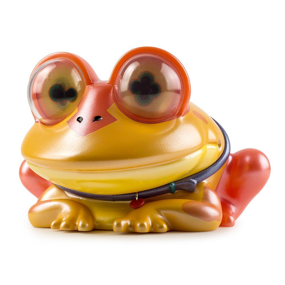 "Futurama All Hail Hypnotoad 6"" Metallic Art Figure by Kidrobot - Kidrobot"