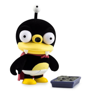 "Vinyl - Futurama Furry Little Nibbler 7"" Flocked Art Figure By Kidrobot"