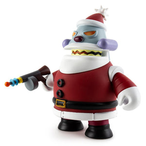"Futurama Robot Santa Claus ""Naughty"" Art Figure by Kidrobot - Kidrobot"