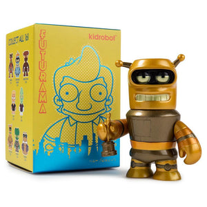 Kidrobot Futurama Universe X Mini Series Super King Bender Figure NEW