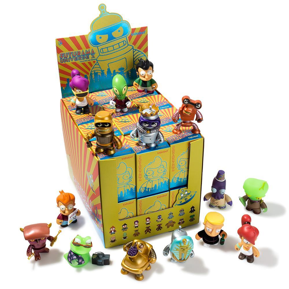 Futurama Universe X Blind Box Mini Figure Series by Kidrobot - Kidrobot - Designer Art Toys