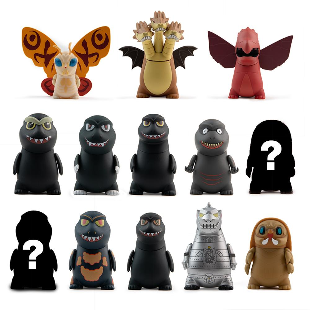 Godzilla Vinyl Mini Figure Series by Kidrobot - Kidrobot