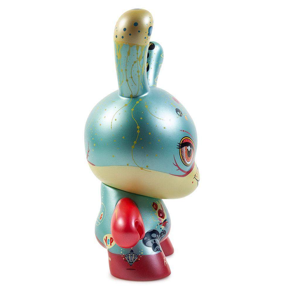 "Vinyl - Good 4 Nothing 8"" Dunny Art Figure By 64 Colors - KR Exclusive"