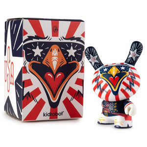 "Indie Eagle 3"" Dunny Art Figure by Kronk - Kidrobot"
