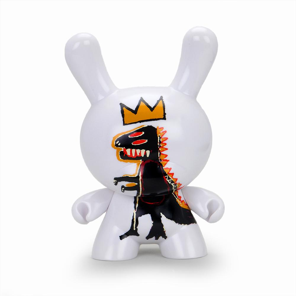 "Jean-Michel Basquiat Masterpiece Pez Dispenser 8"" Dunny Art Figure - Kidrobot - Designer Art Toys"