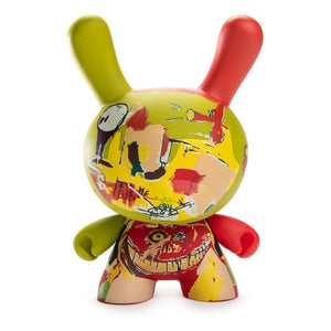 "Jean-Michel Basquiat Masterpiece Wine of Babylon 8"" Dunny Art Figure - Kidrobot - Designer Art Toys"