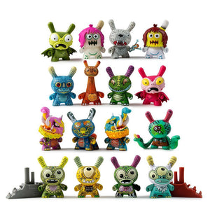 "Kaiju Dunny Battle 3"" Mini Figure Series by Kidrobot x Clutter - Kidrobot - Designer Art Toys"