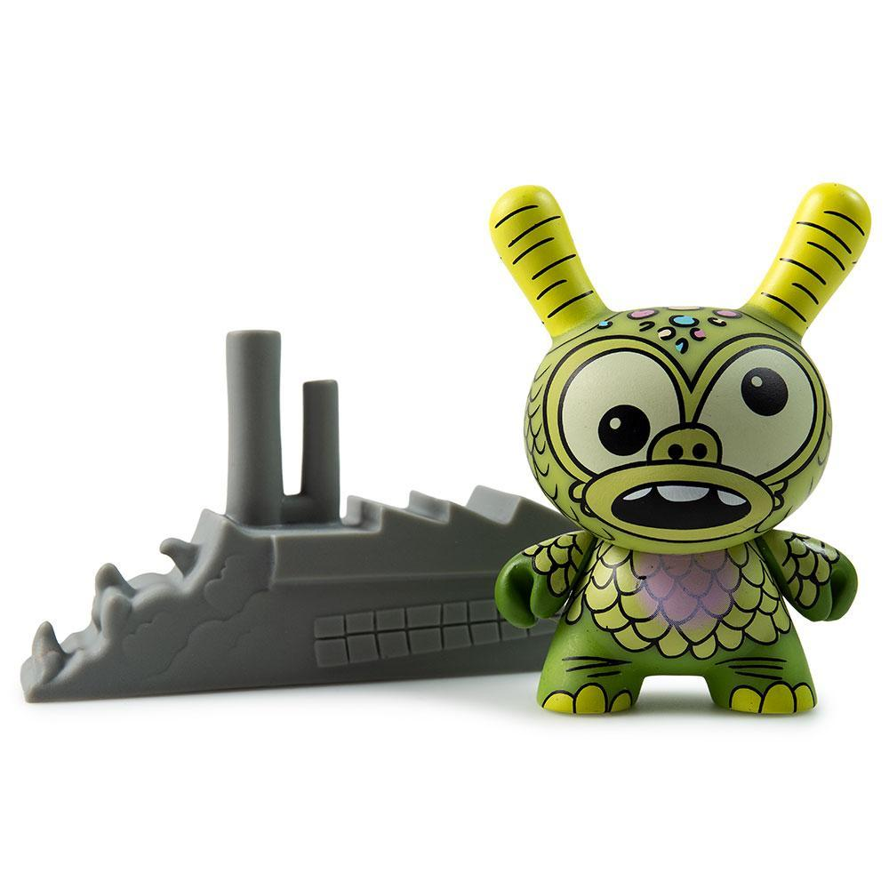 "Vinyl - Kaiju Dunny Battle 3"" Mini Figure Series By Kidrobot X Clutter"
