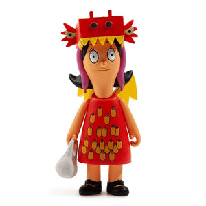 "Kidrobot x Bob's Burgers Louise Dragon with the Girl Tattoo 3"" Figure - Kidrobot - Designer Art Toys"
