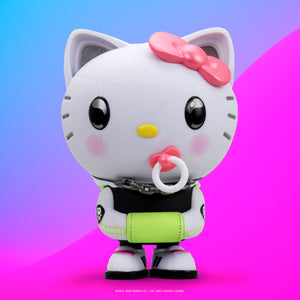 "Kidrobot x Hello Kitty 6.5"" Art Figure by Quiccs - Neon Pop Edition - Kidrobot - Designer Art Toys"