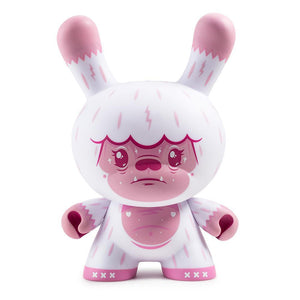 "Kono The Yeti 8"" Bubblegum Dunny Art Figure by Squink - Kidrobot - Designer Art Toys"