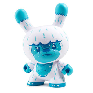 "Vinyl - Kono The Yeti 8"" Ice Blue Dunny Art Figure By Squink"