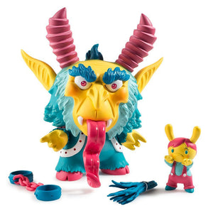 "Vinyl - Krampus 5"" Dunny By Scott Tolleson"