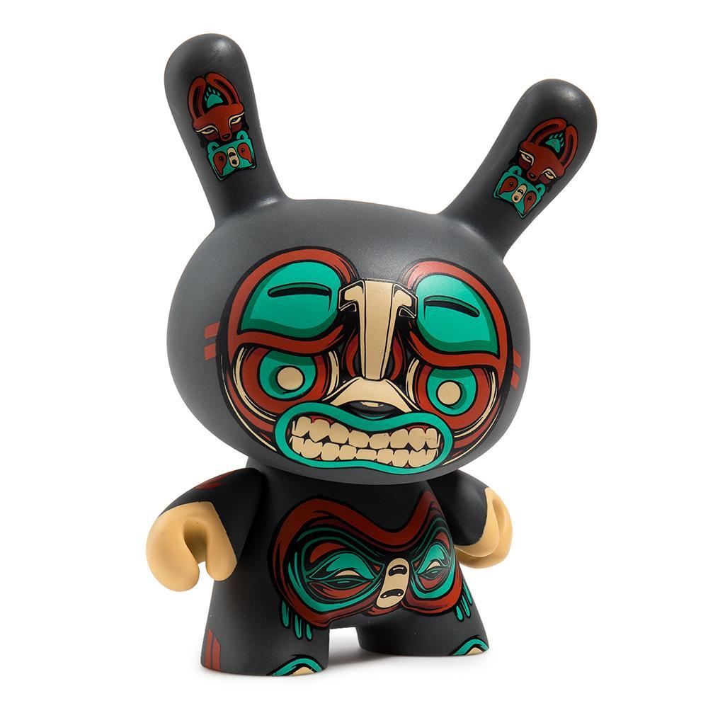"Kuba 5"" Gray Dunny Art Figure by Mike Fudge - Kidrobot"