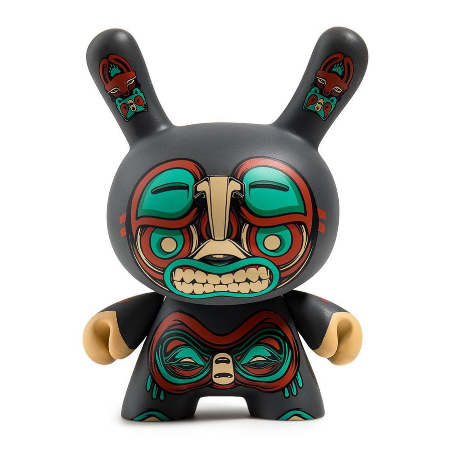 "Vinyl - Kuba 5"" Gray Dunny Art Figure By Mike Fudge"