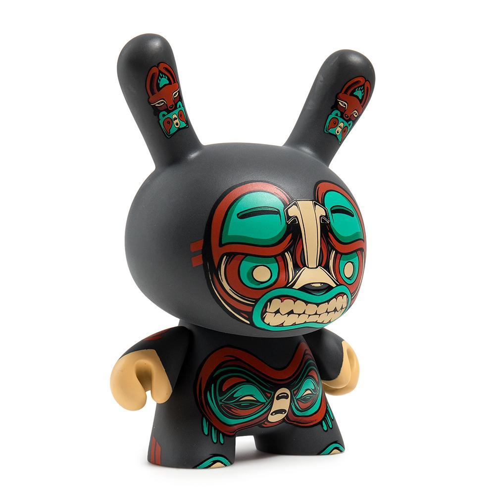 "Kuba 5"" Gray Dunny Art Figure by Mike Fudge - Kidrobot - Designer Art Toys"