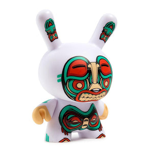 "Vinyl - Kuba 5"" White Dunny Art Figure By Mike Fudge"