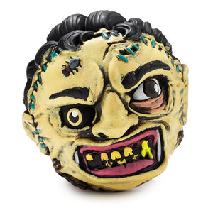 Vinyl - Leatherface Madballs Foam Horrorball By Kidrobot
