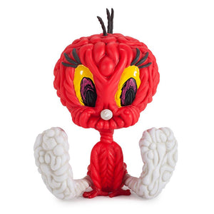 "Looney Tunes Mark Dean Veca Tweety Bird 8"" Medium Figure - Kidrobot - 1"