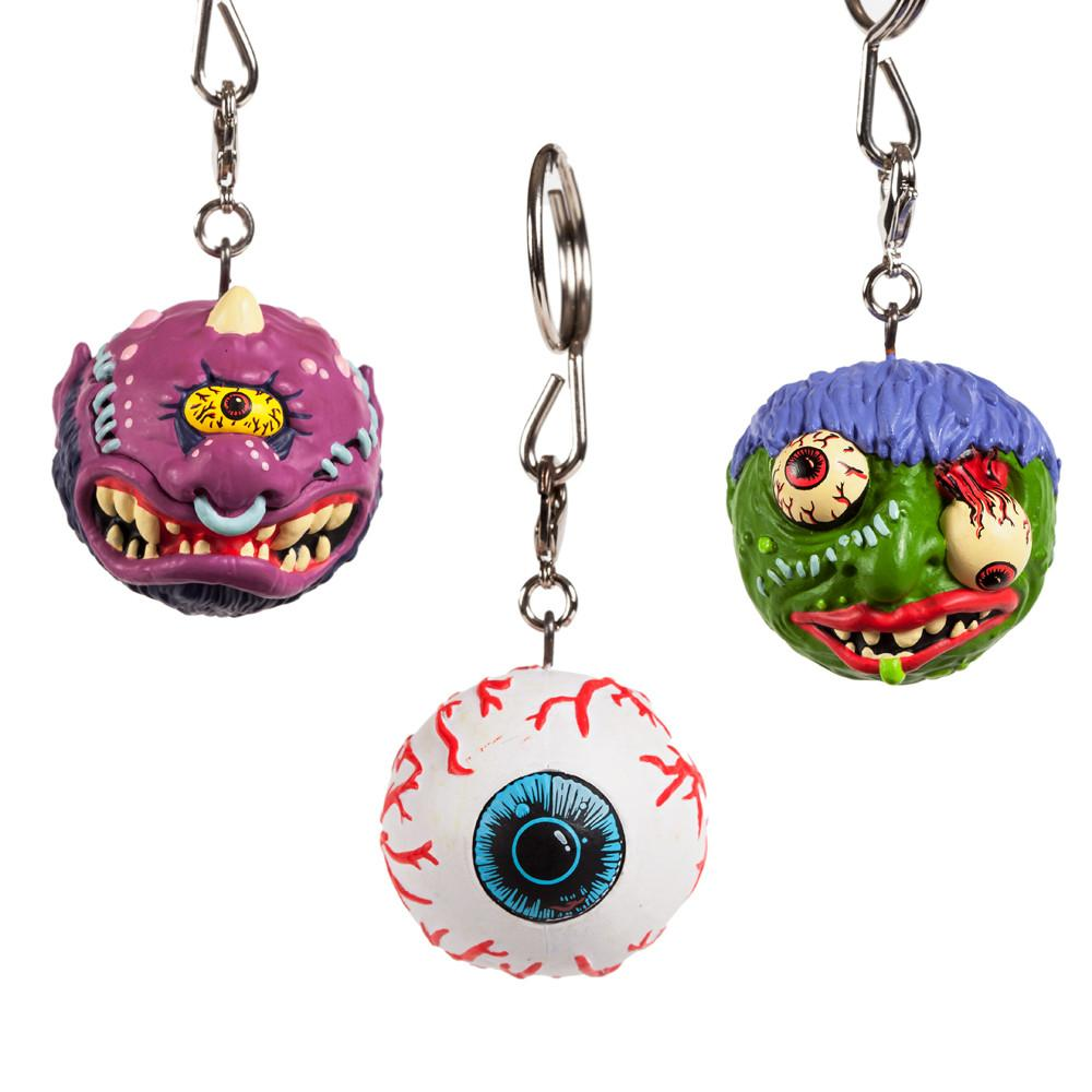 Kidrobot  Madballs 1 1//2-Inch Key Chain Wolf Breath