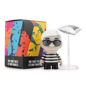 Many Faces of Andy Warhol Vinyl Figures by Kidrobot - Kidrobot - Designer Art Toys