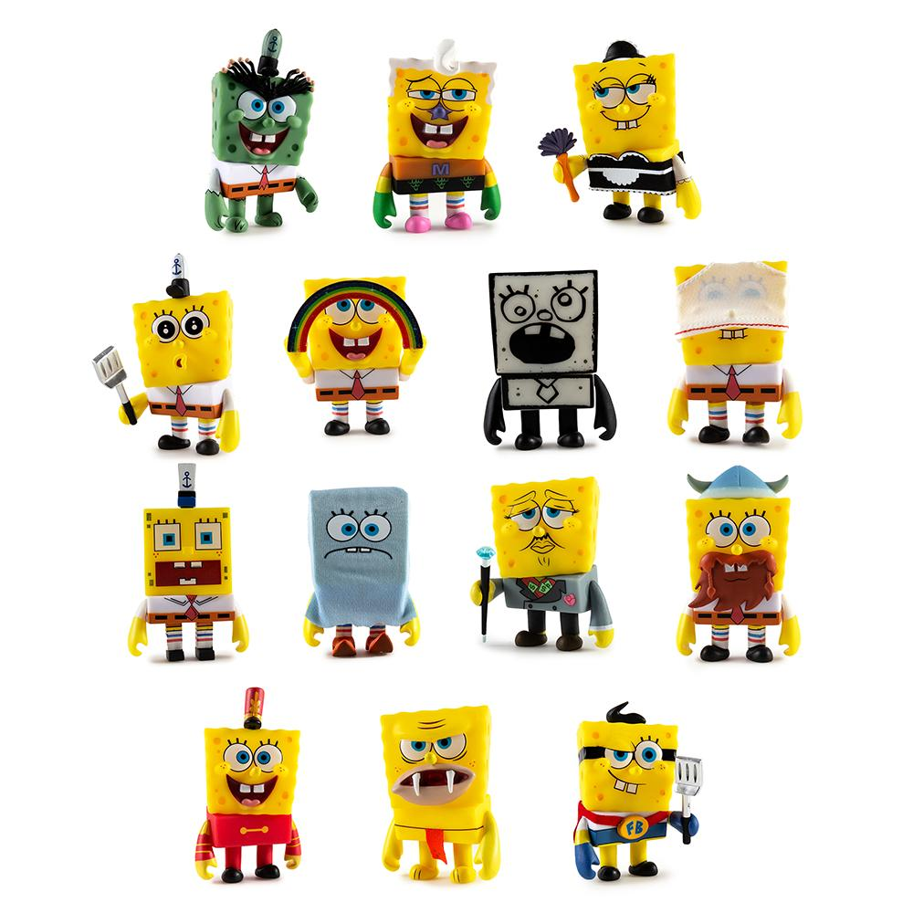 Many Faces of SpongeBob SquarePants Blind Box Mini Figure Series