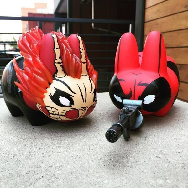 Vinyl marvel ghost rider 7 labbit 1