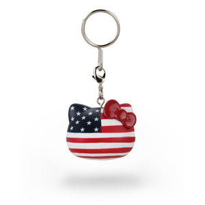 Hello Kitty® x Team USA Vinyl Keychains by Kidrobot - Kidrobot - Designer Art Toys