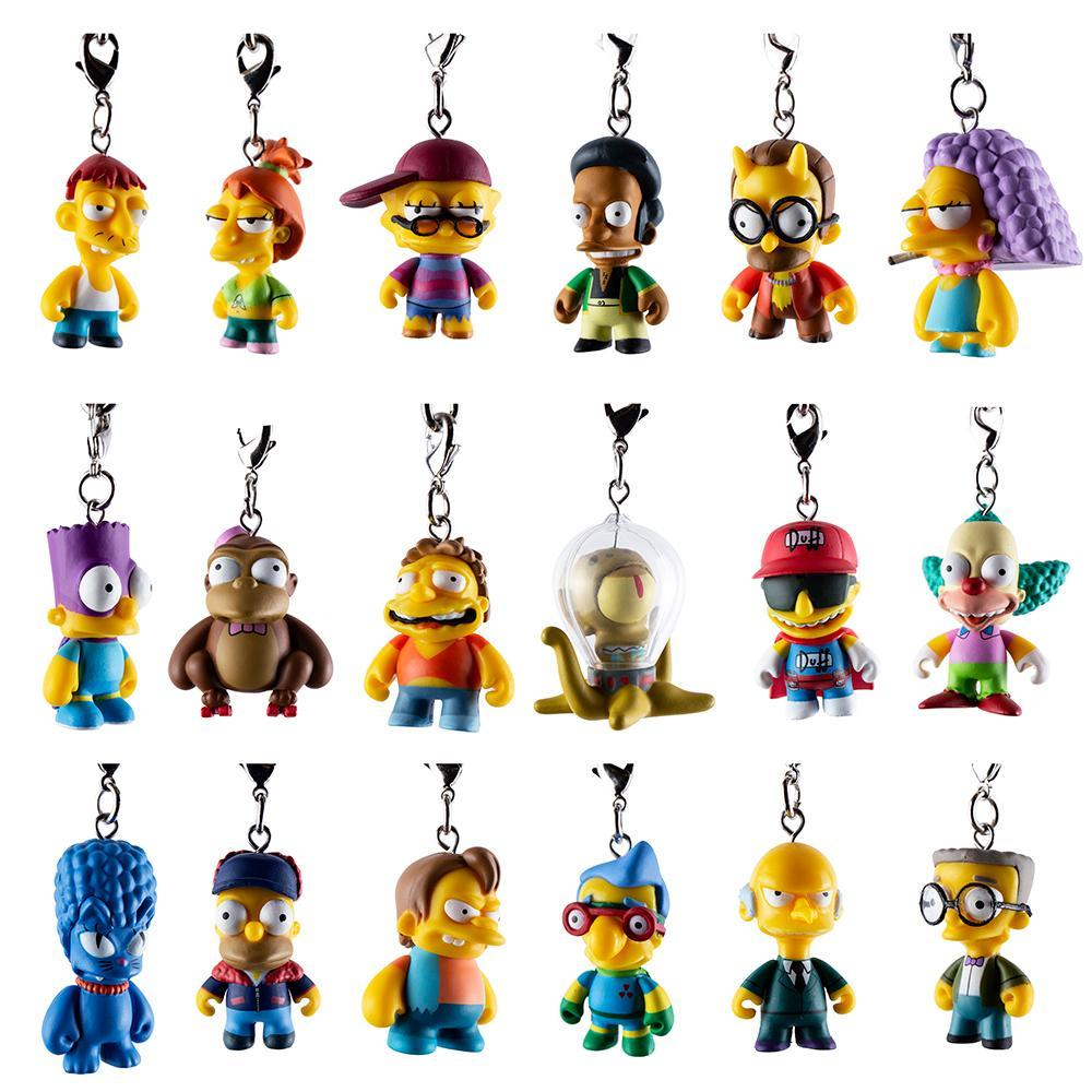The Simpsons CRAP-TACULAR! Keychain Series by Kidrobot - Kidrobot