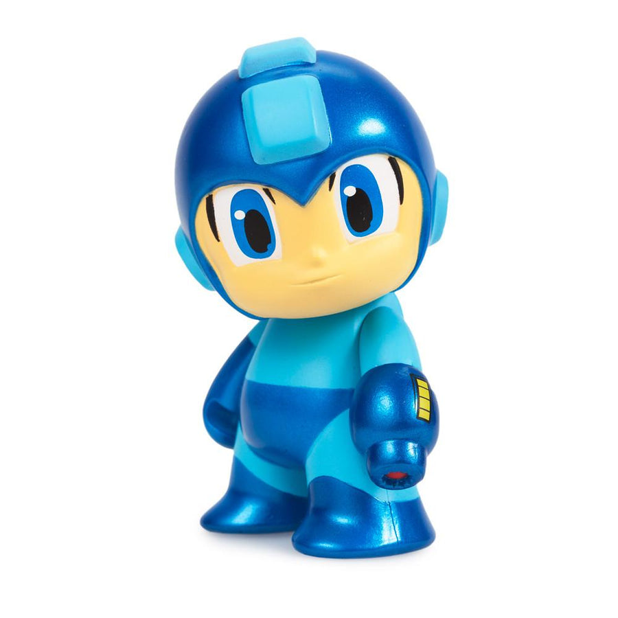 "Metallic Mega Man 3"" Mini Figure - Kidrobot - 3"
