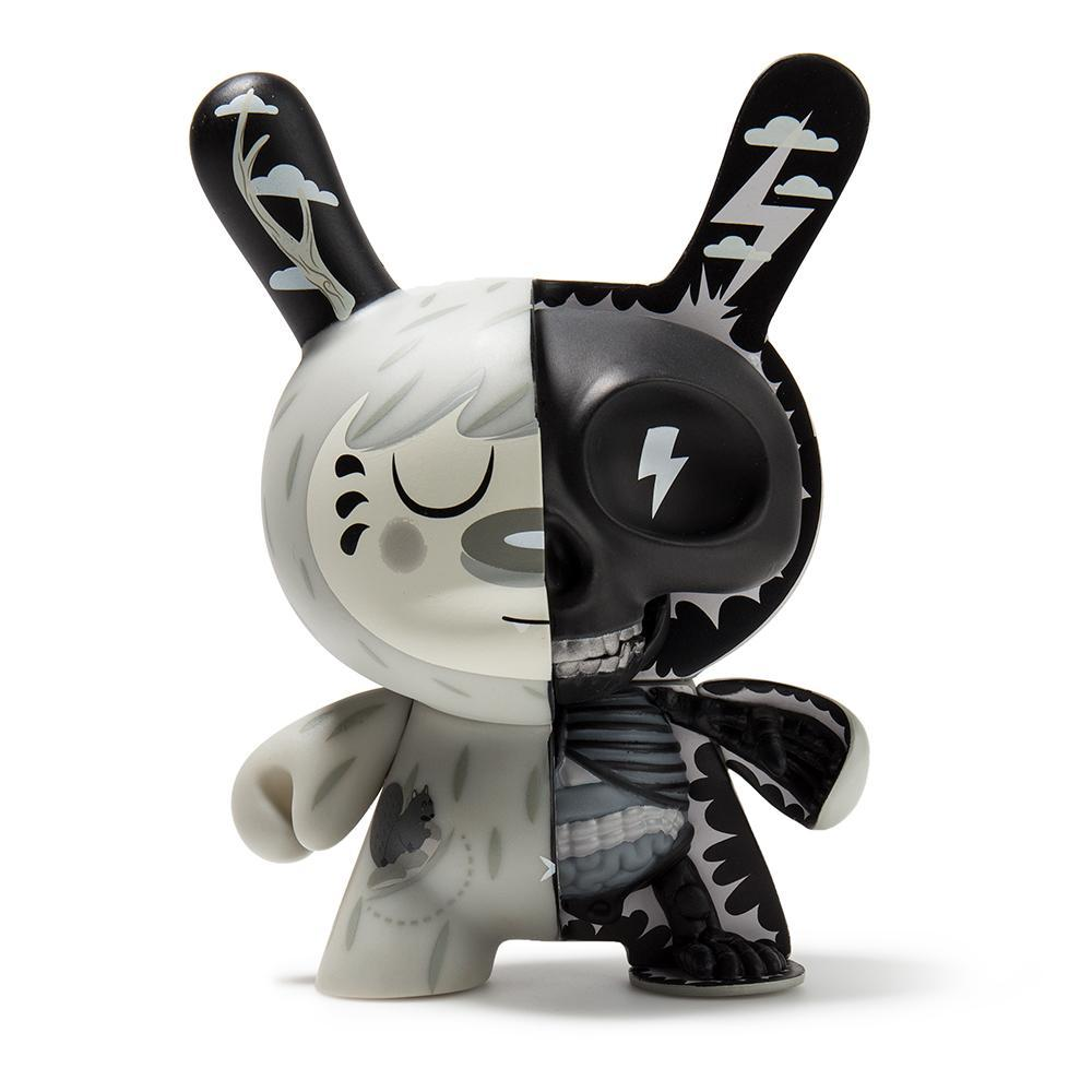 "Vinyl - Mr. Watt Anatomical 5"" Grayscale Dunny"