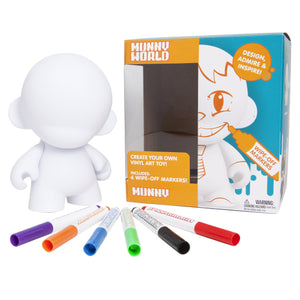 "Vinyl - MUNNY WORLD 7"" MUNNY W/ 6 Reusable Markers"