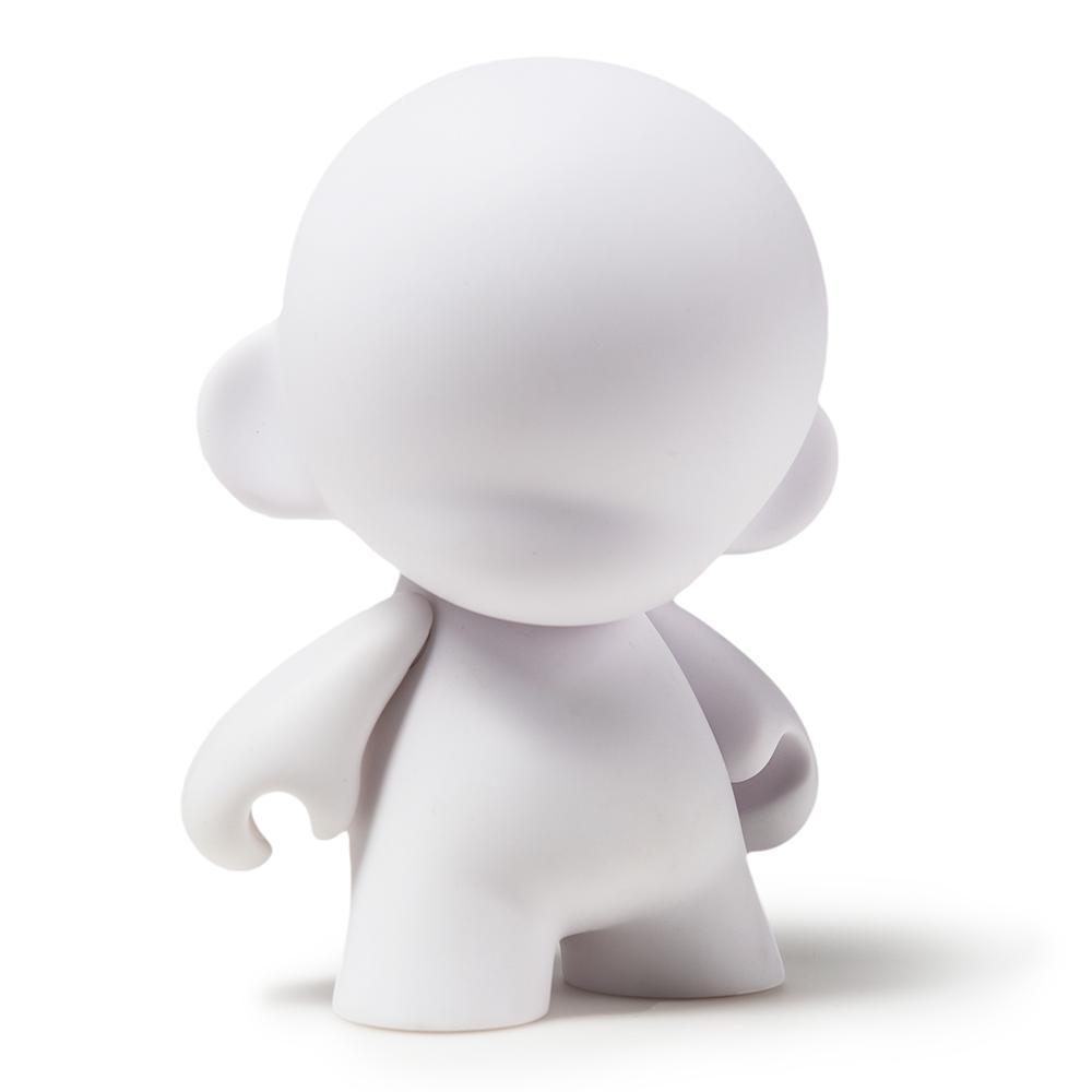 "MUNNYWORLD 4"" MUNNY Blank Art Toy by Kidrobot - Kidrobot - Designer Art Toys"