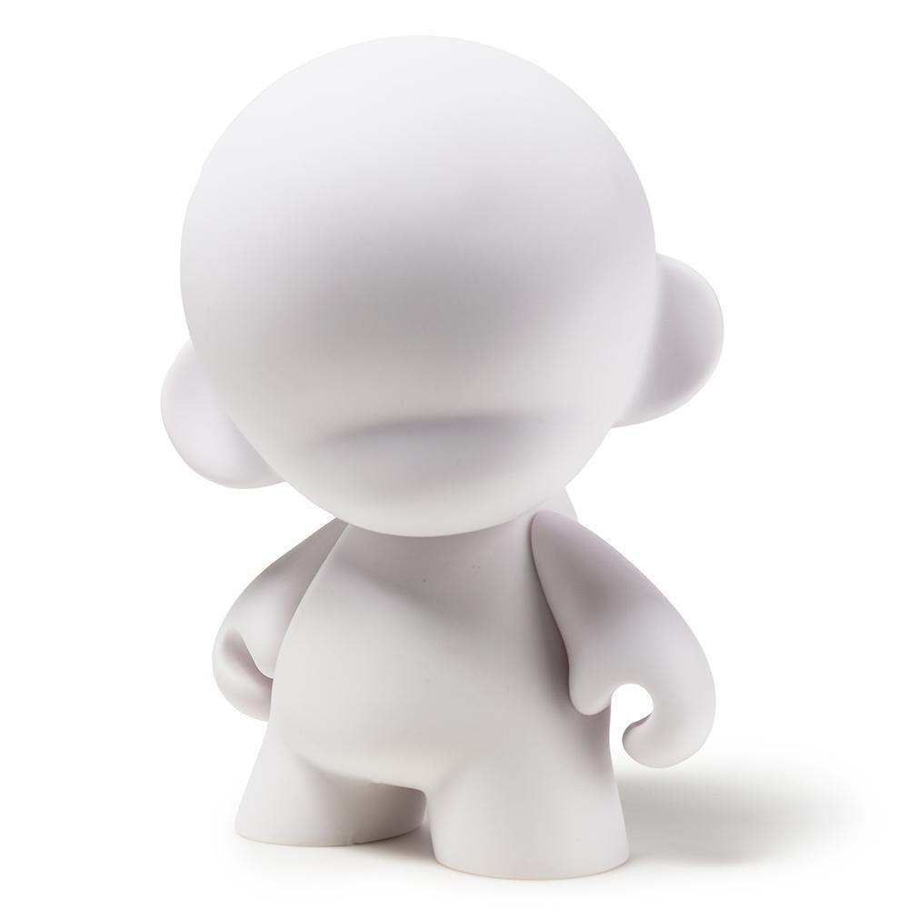 "MUNNYWORLD 7"" MUNNY Blank Art Toy by Kidrobot - Kidrobot - Designer Art Toys"