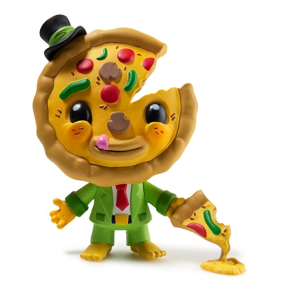 My Little Pizza Art Figure by Lyla & Piper Tolleson - Kidrobot - Designer Art Toys