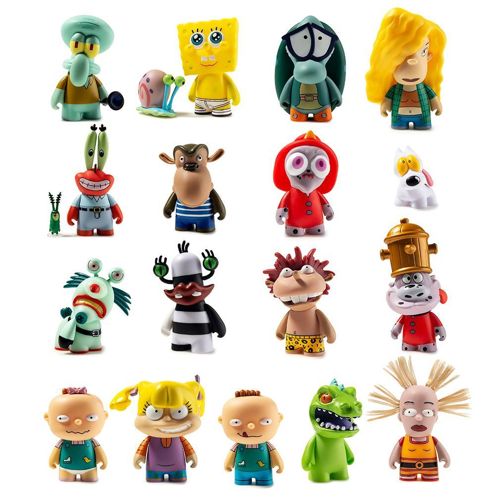 Nickelodeon Nick 90 S Mini Figure Series 2 By Kidrobot