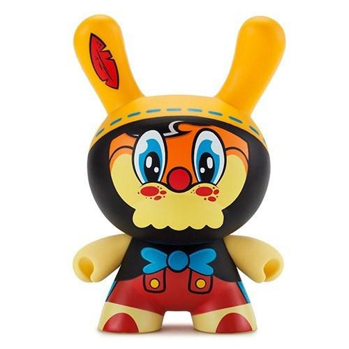 """No Strings On Me"" 8"" Dunny by WuzOne - Kidrobot - Designer Art Toys"