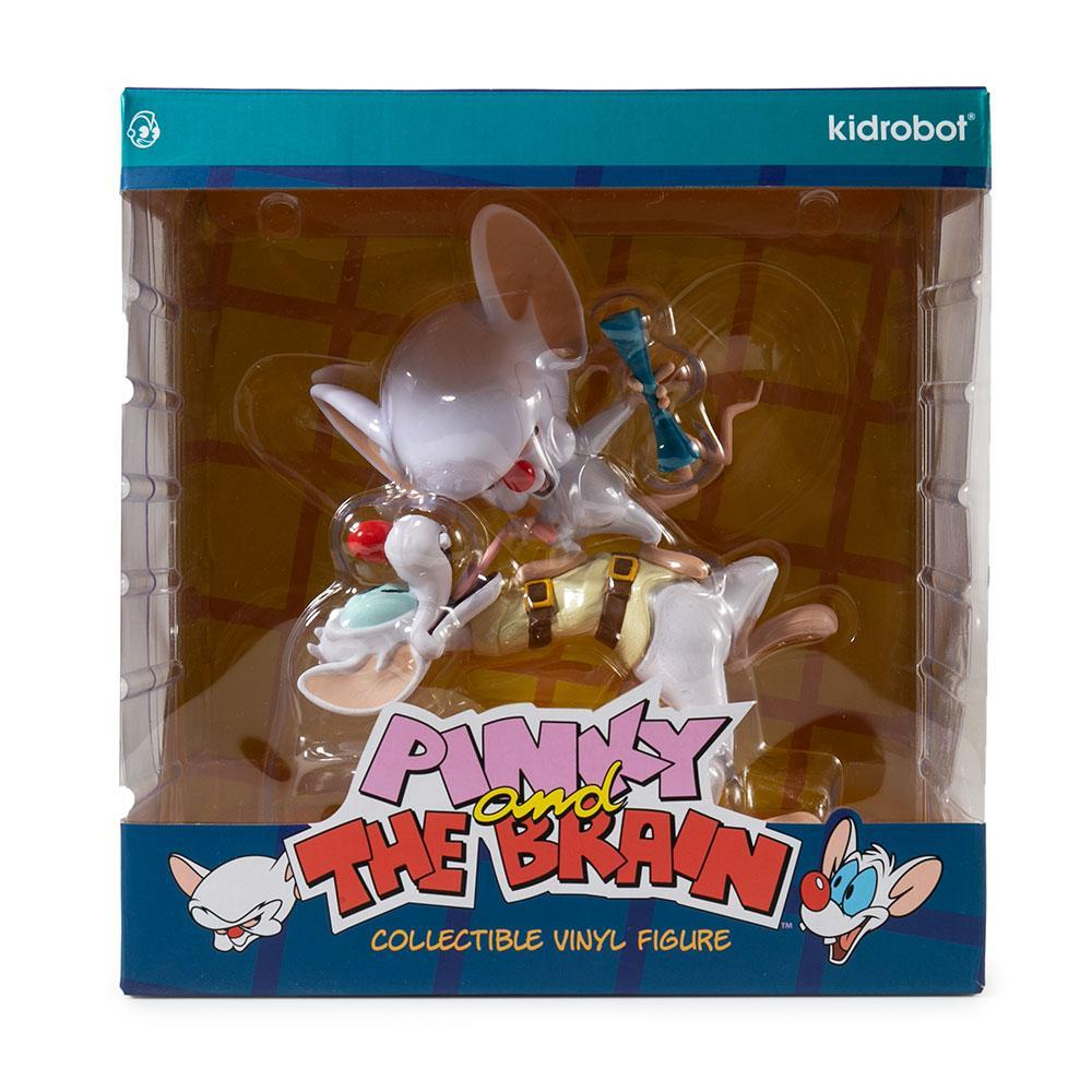 Pinky and The Brain Vinyl Art Figure by Kidrobot - Kidrobot - Designer Art Toys