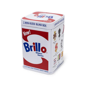 Andy Warhol Brillo Box Art Object Blind Box Figures by Kidrobot - Kidrobot - Designer Art Toys