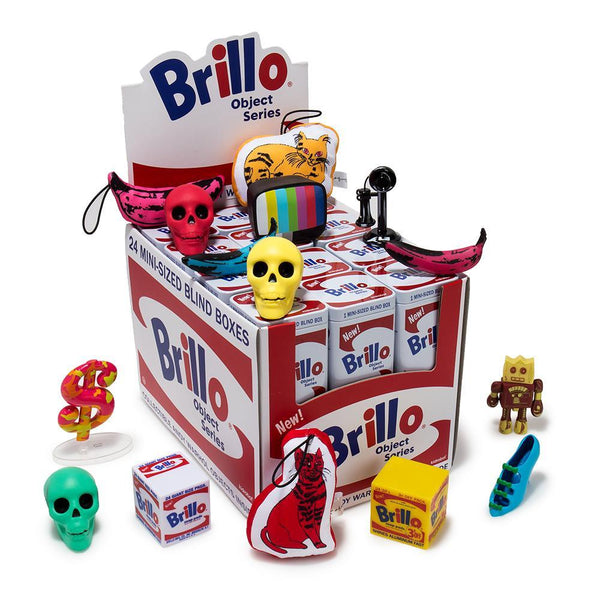 Blinds In A Box: Andy Warhol Brillo Box Art Object Blind Box Series By Kidrobot