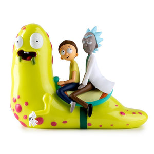 Vinyl - Rick And Morty Slippery Stair Medium Art Figure By Kidrobot