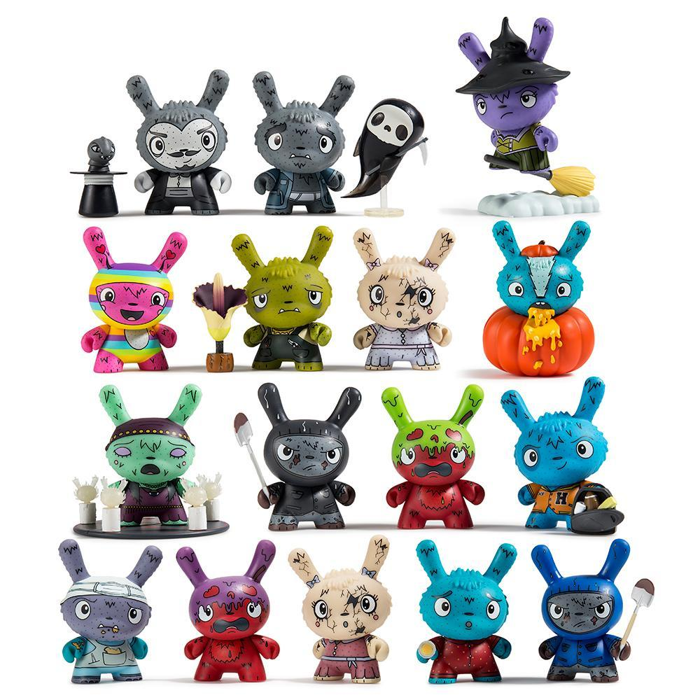 Vinyl - Scared Silly Dunny Series By Jenn & Tony Bot