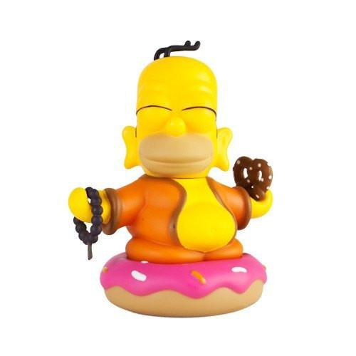"Homer Buddha 3"" Mini Figure The Simpsons x Kidrobot - Kidrobot - 1"