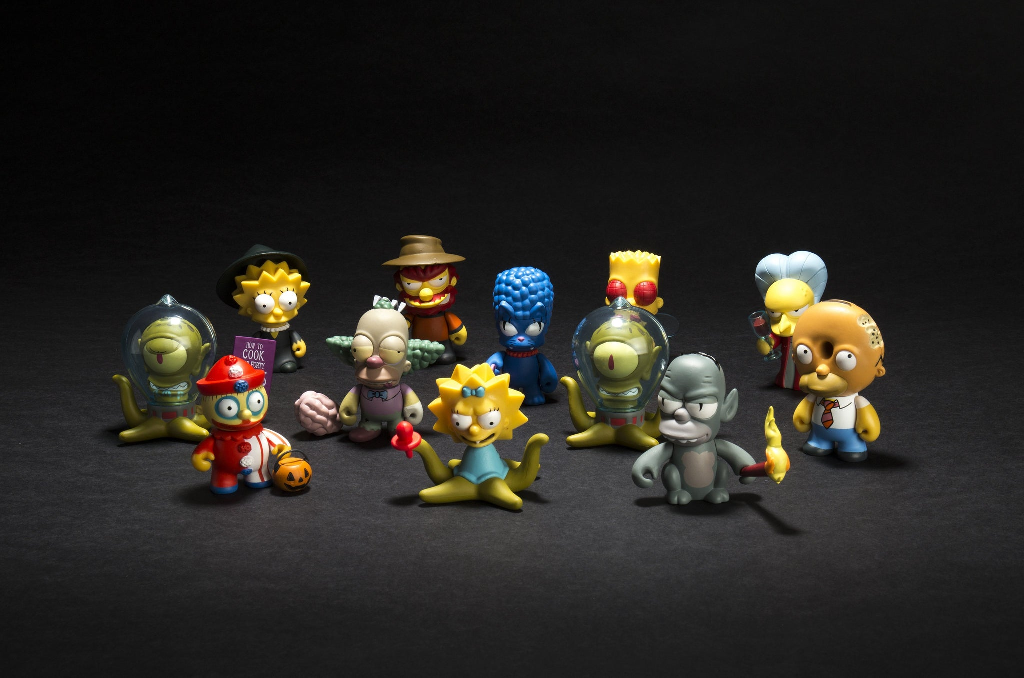 Willie The Simpsons Treehouse of Horrors NEW Accessories Box Figure Kidrobot
