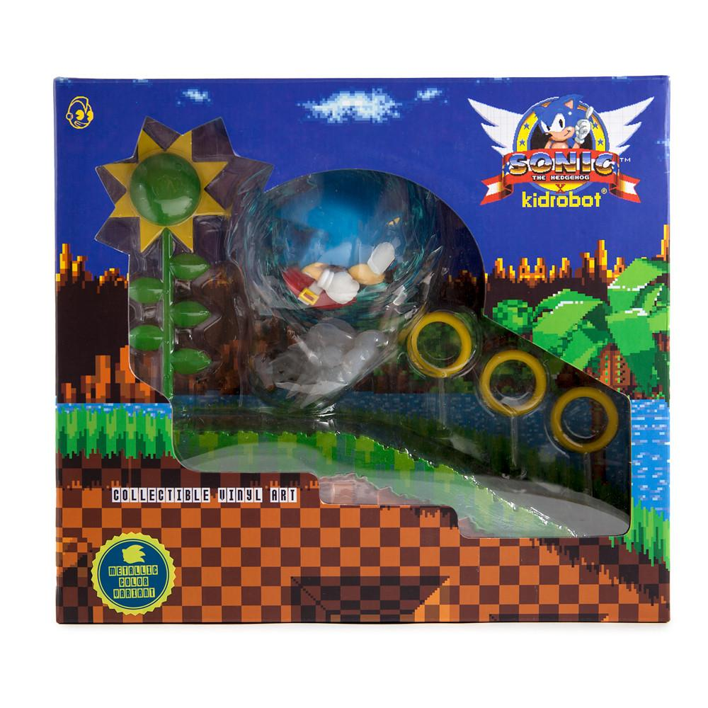 Sonic KIDROBOT Figures Showcased