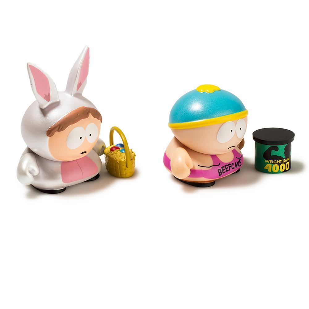 Vinyl - South Park Beefcake And Bunny Cartman Mini Figure 2-Pack