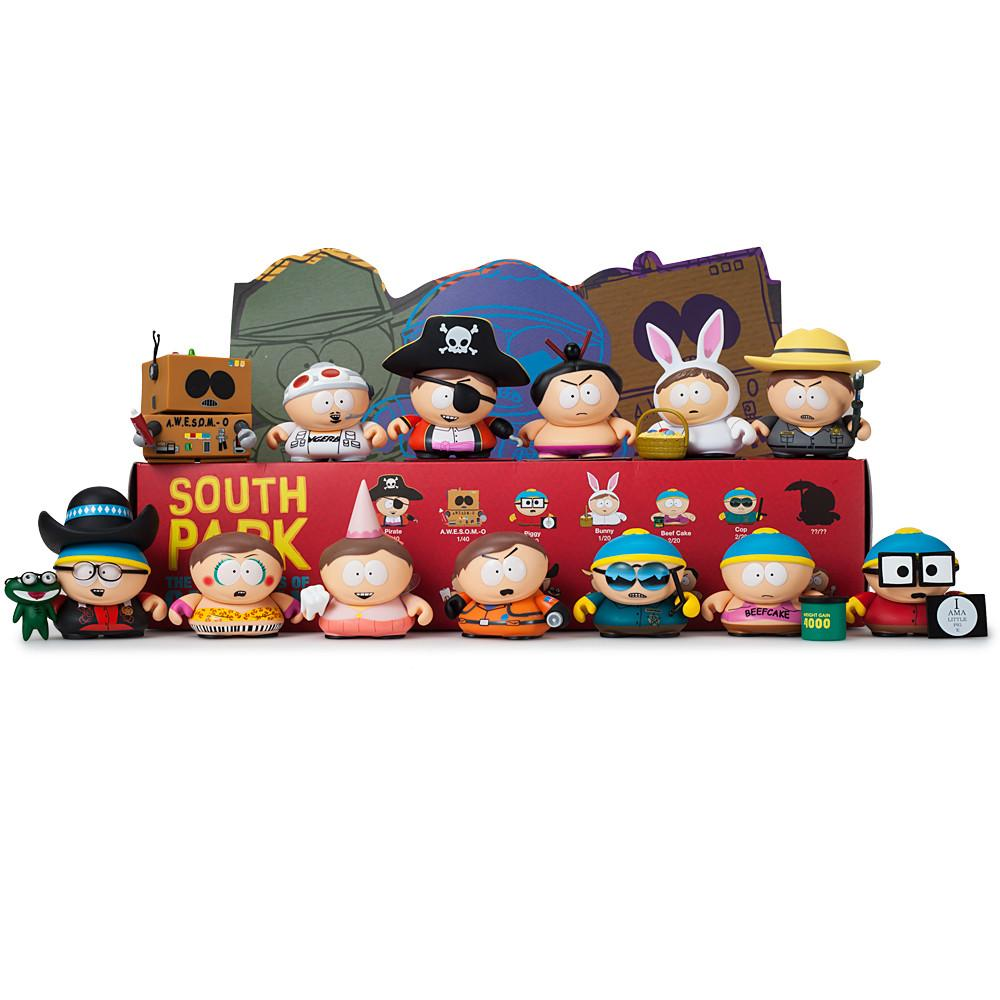 "South Park Many Faces of Cartman 3"" Blind Box Mini Series - Kidrobot - Designer Art Toys"